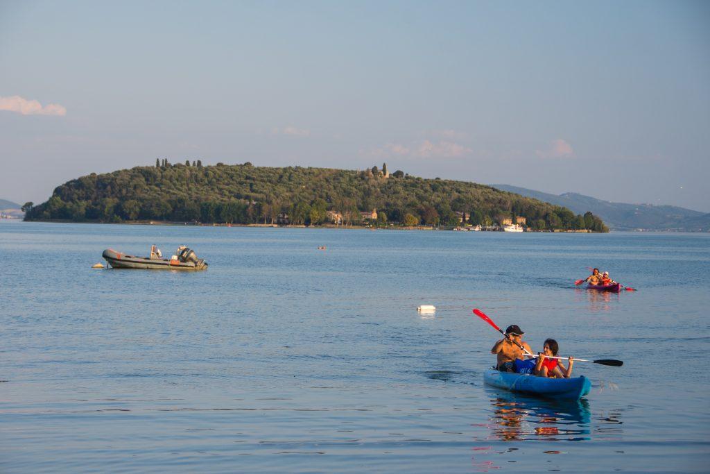 Kayaktochten vanaf de caping